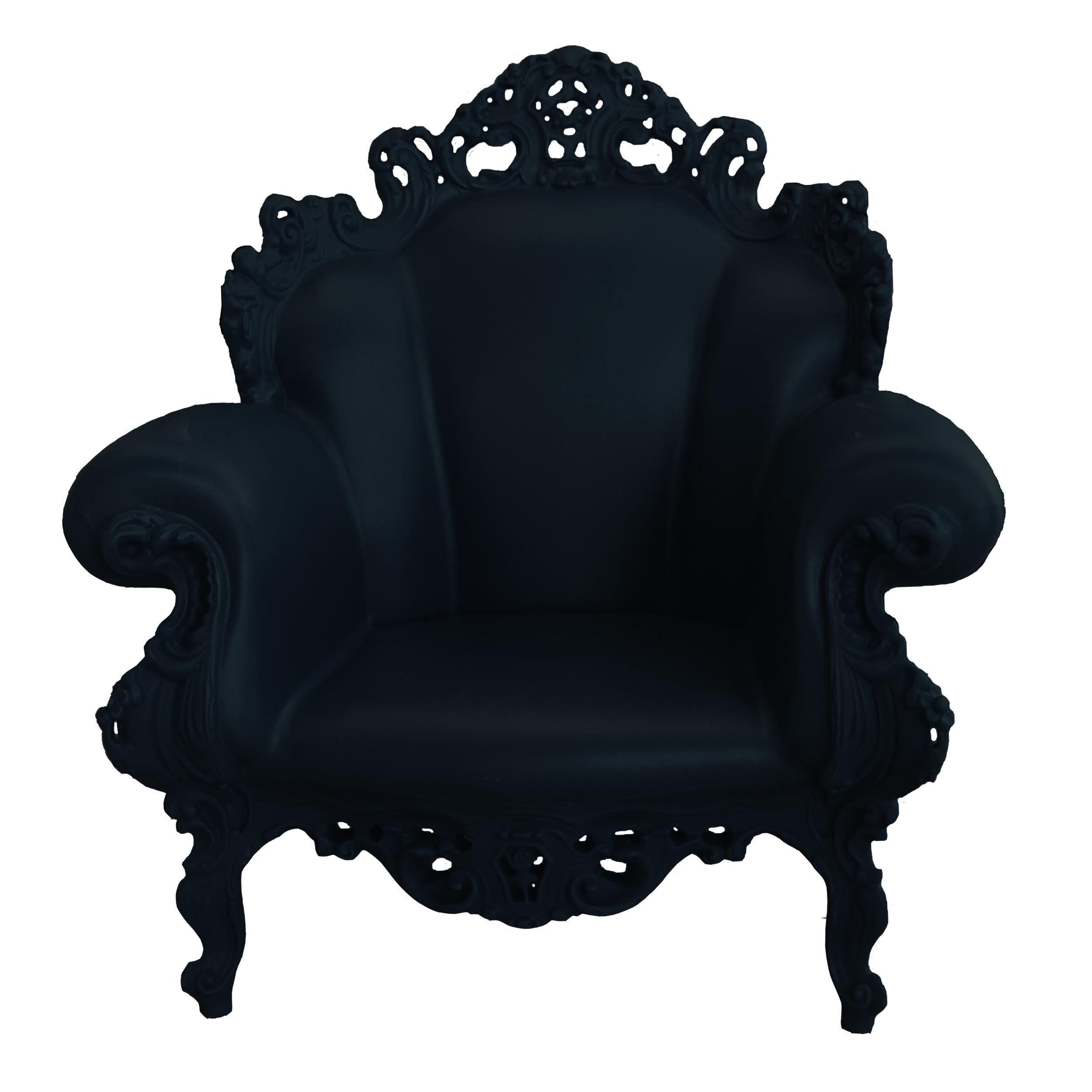 Proust Sessel schwarz -