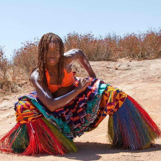 YEKO LADZEPKO-COLE - GHANAIAN TRADITIONAL/DUNHAM INSPIRED