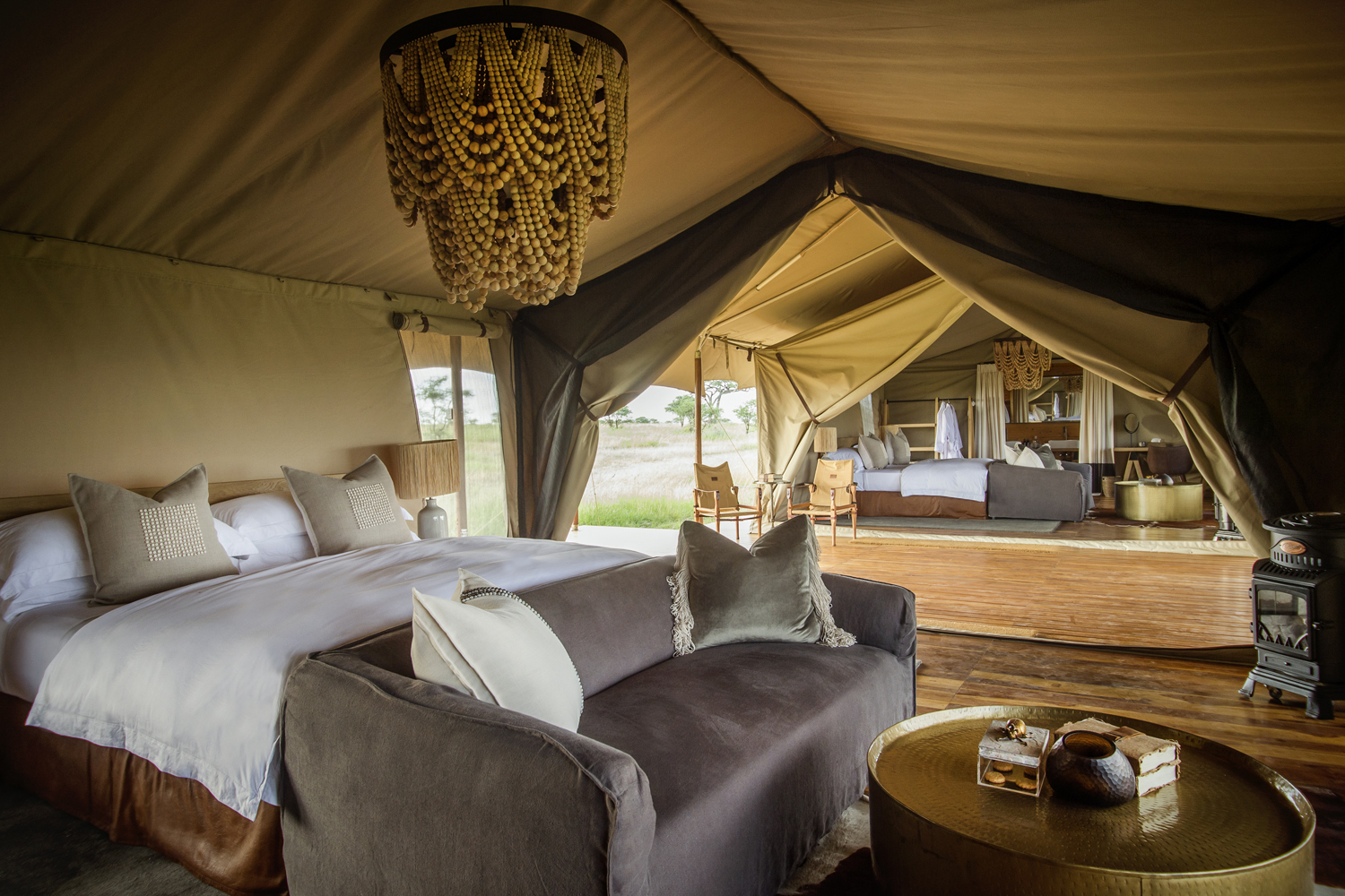 Siringit Luxury Camp Serengeti National Park, Tanzania