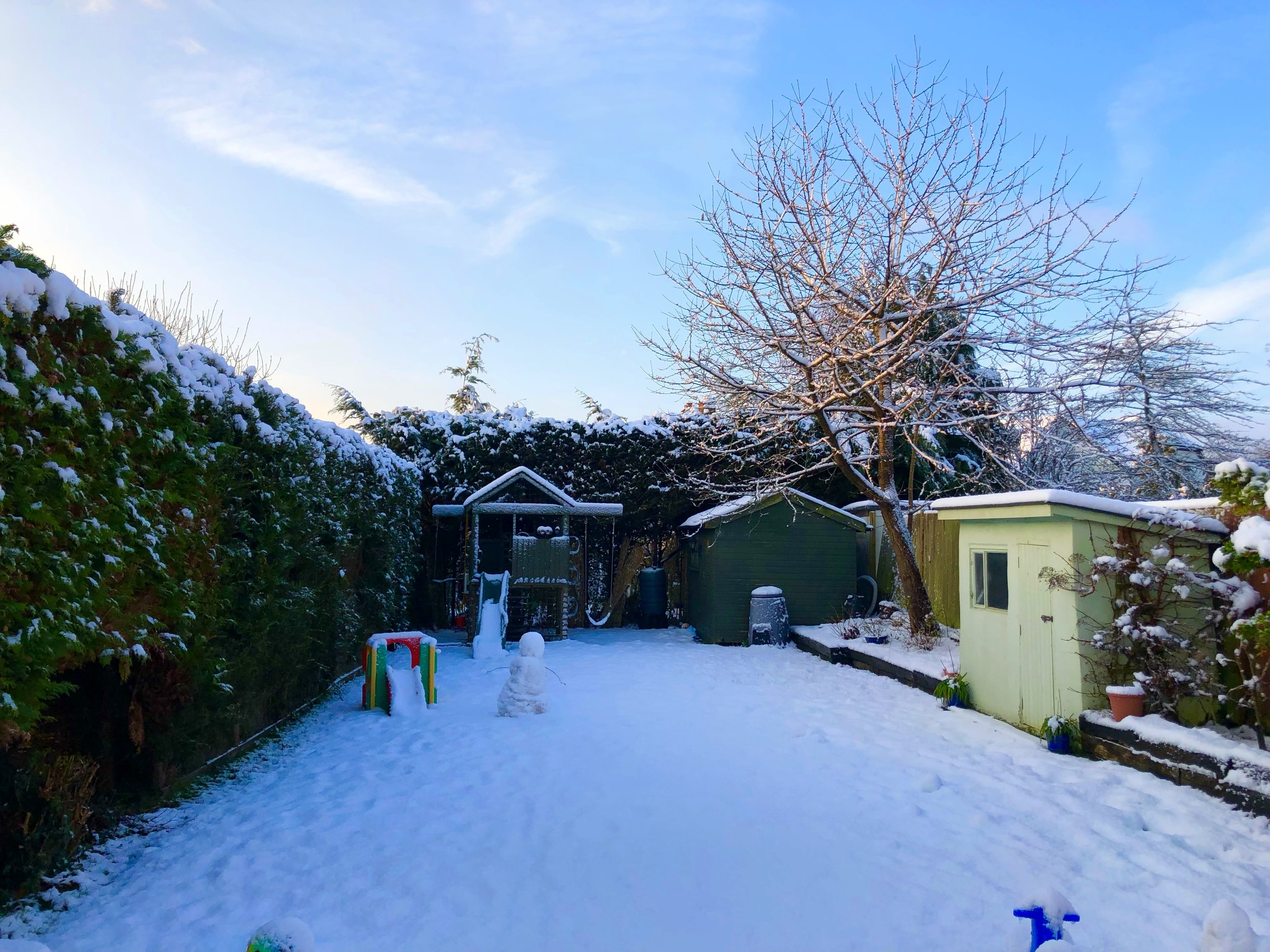 Russ Avery Consulting HQ in the snow! February 2019.