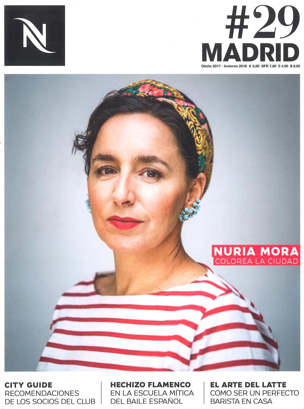 NESPRESSO MAGAZINE, MADRID, Issue #29, Autumn 2017.