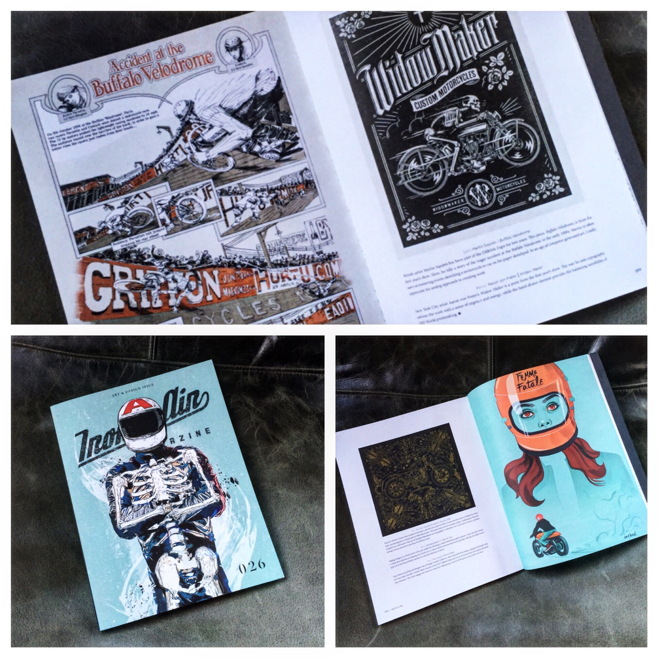 A nice feature on Oil&Ink in the 2017 Iron&Air Design issue