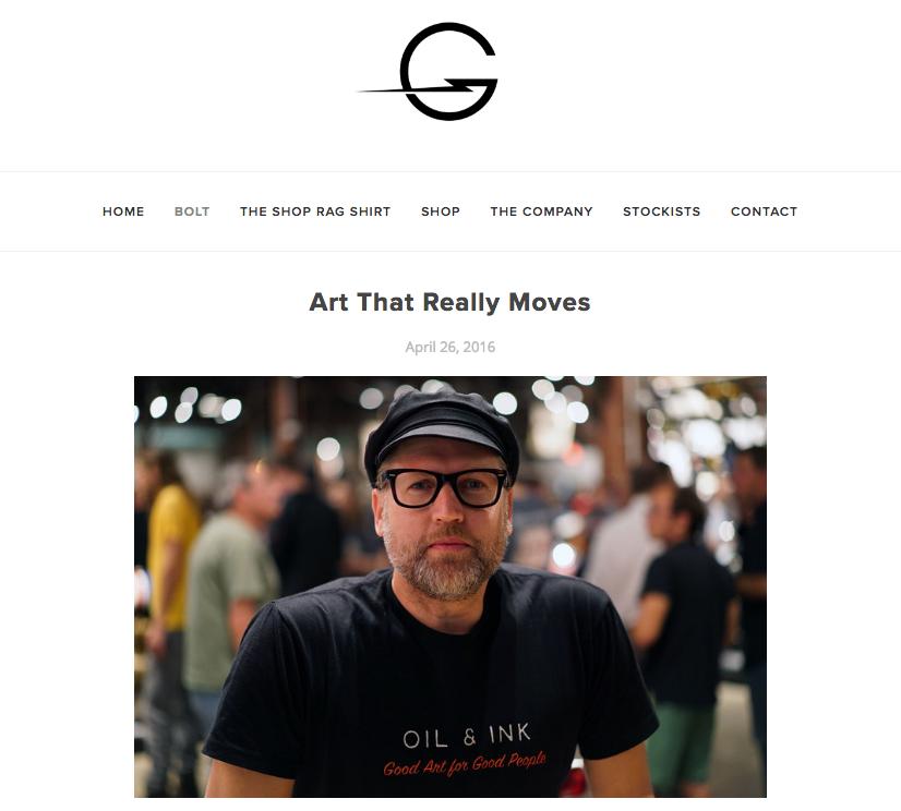 Thanks to Godspeed for highlighting the Oil&Ink Expo   http://godspeedco.com/blog/2016/4/25/art-that-really-moves
