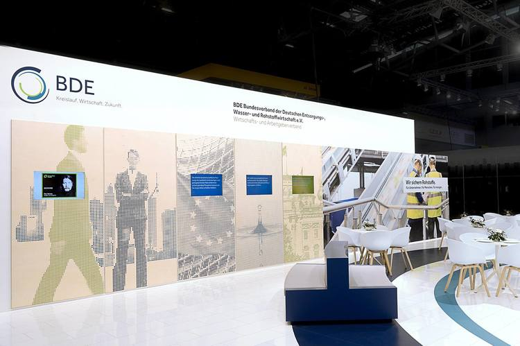 BDE IFAT Booth design