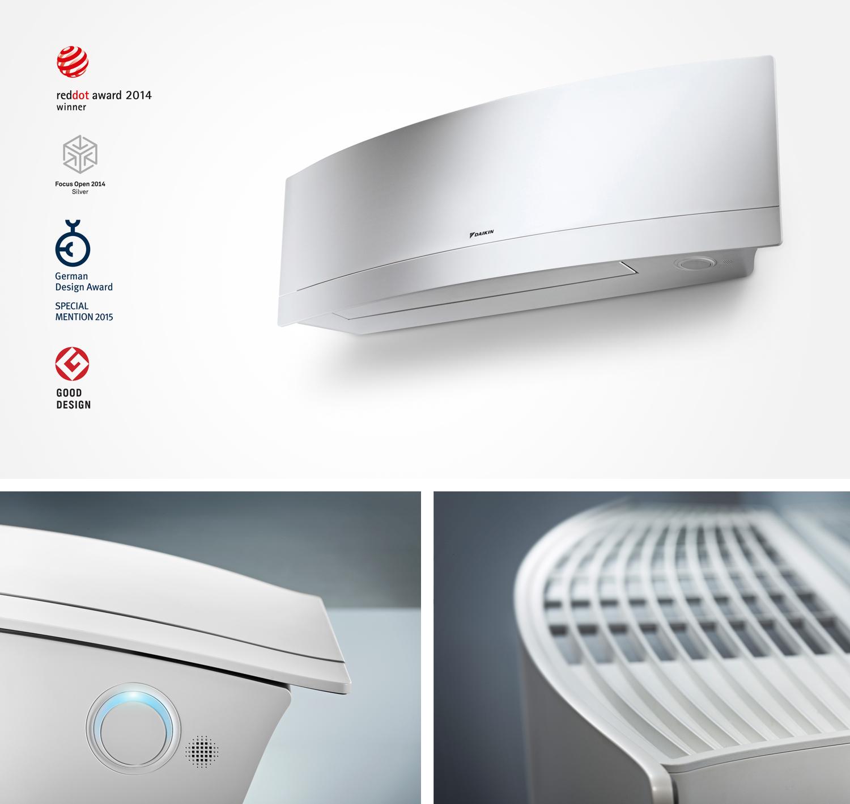 Air conditioner Daikin Emura recognised with prestigious awards