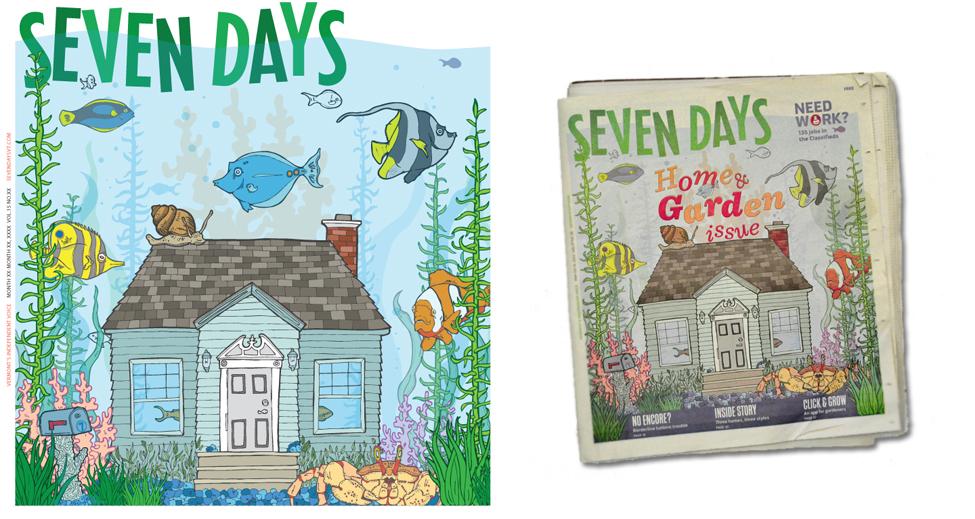 Cover Design For Seven Days