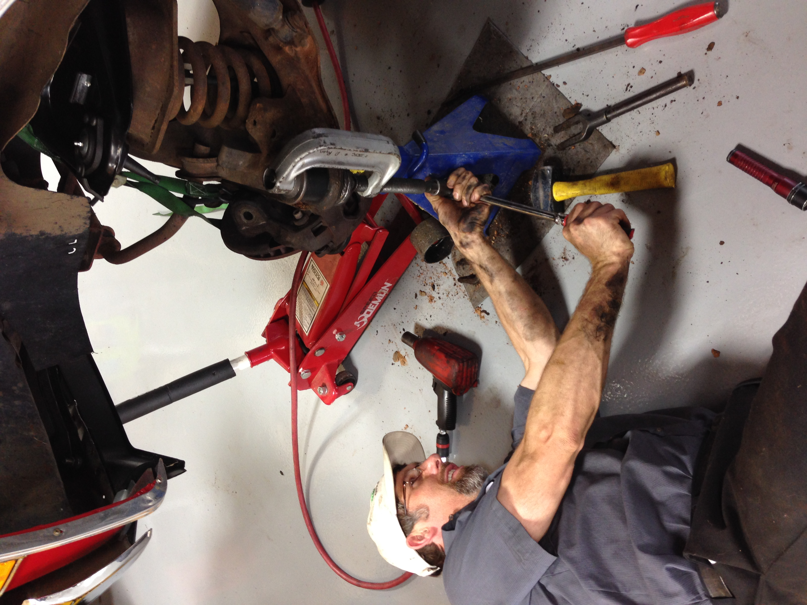 team ryan automotive ball joint labor