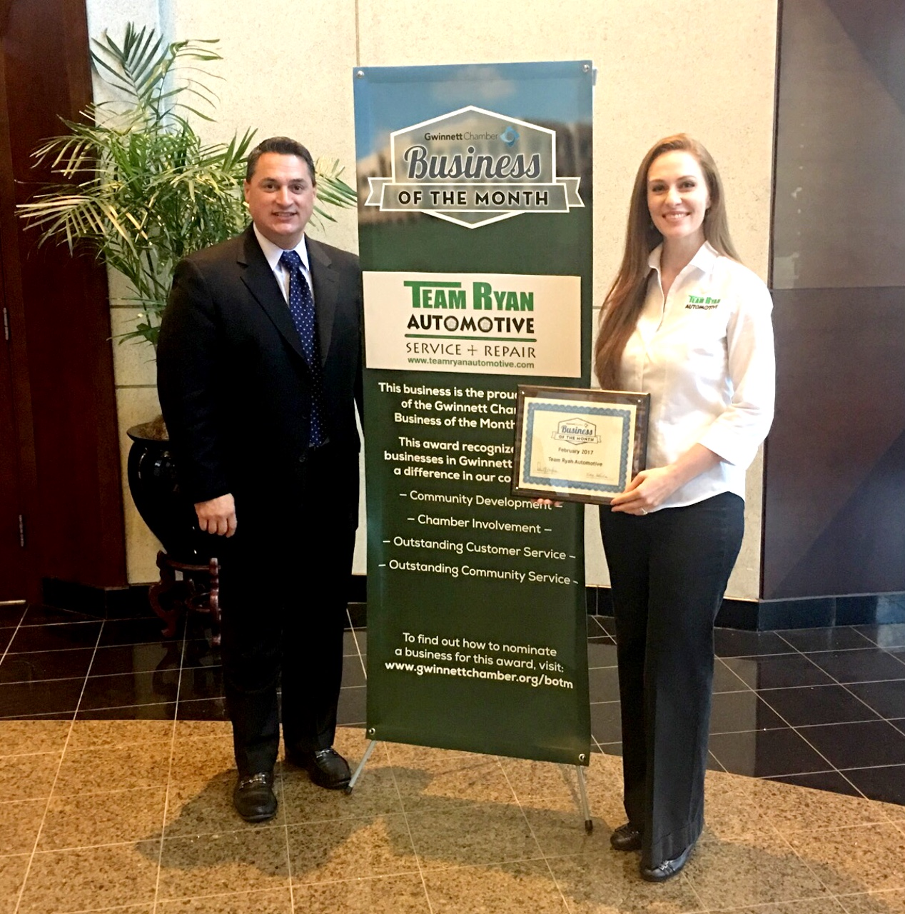Gwinnett Chamber Business of the Month Feb 2017.jpg