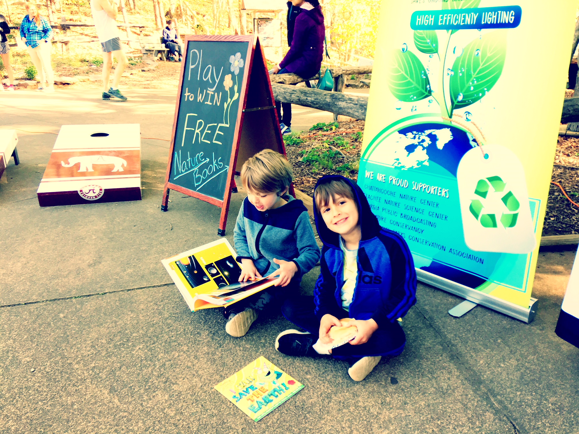 Team Ryan Automotive Service & Repair Free nature books at earth day.jpg