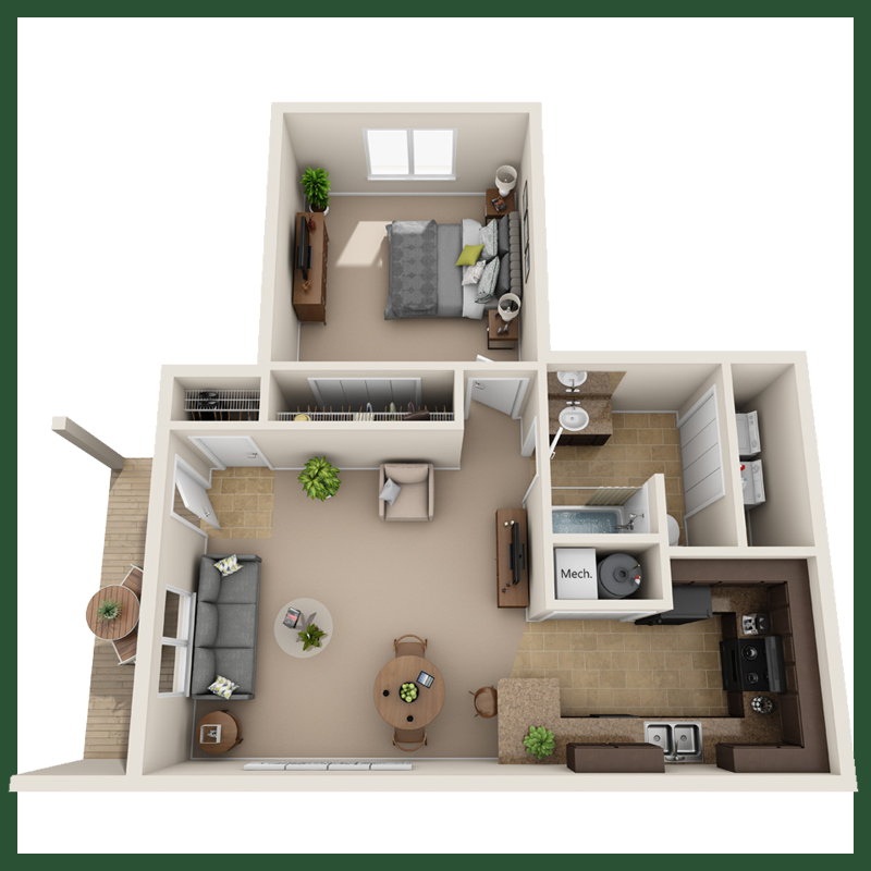 1Bedroom Floor Plan.png