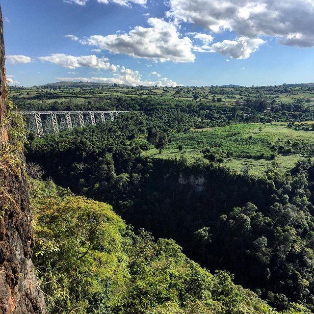 The Gokteik Viaduct.
