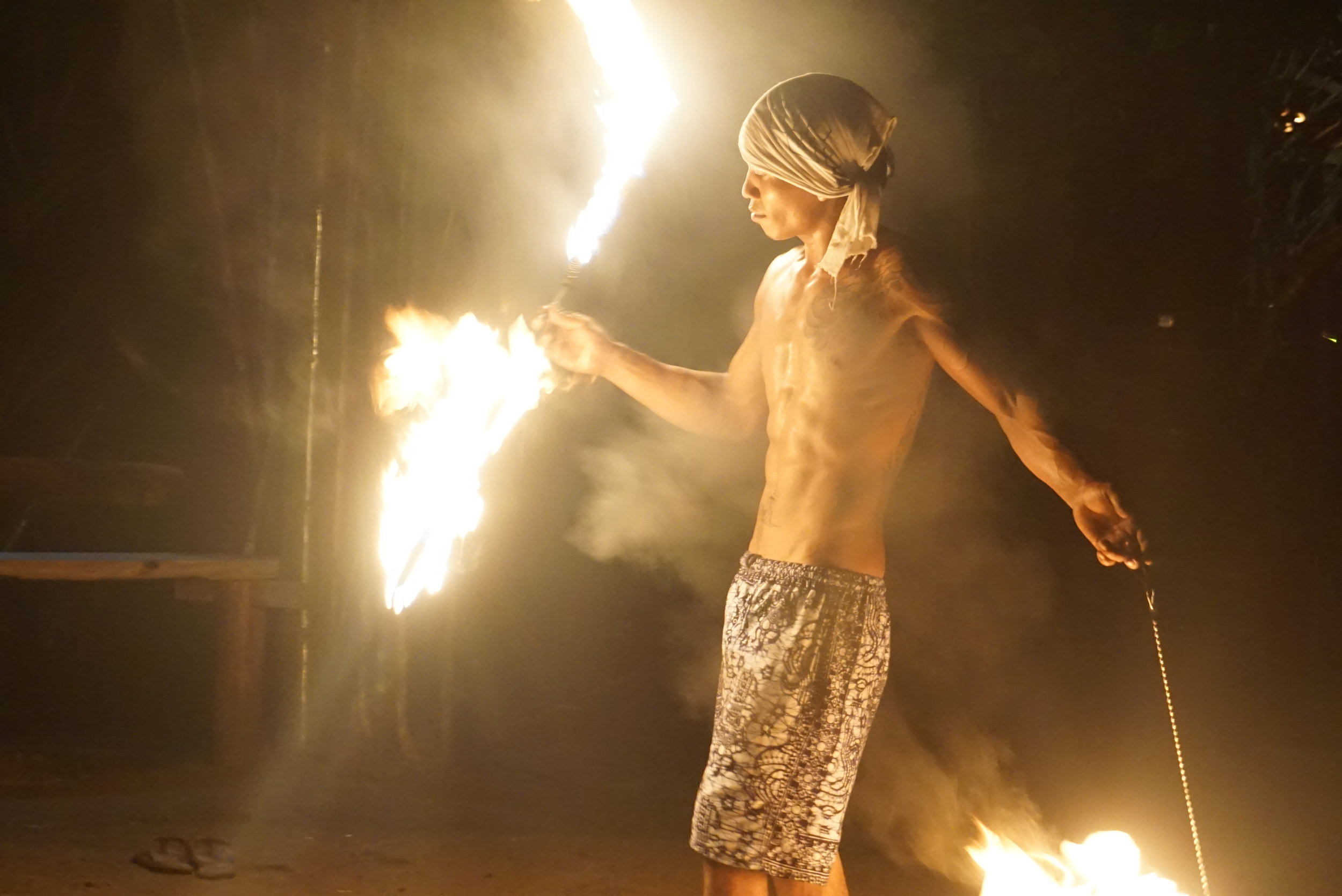 What fire show?    Hey, totally unrelated, what is the legal age in Myanmar? Asking for a friend.