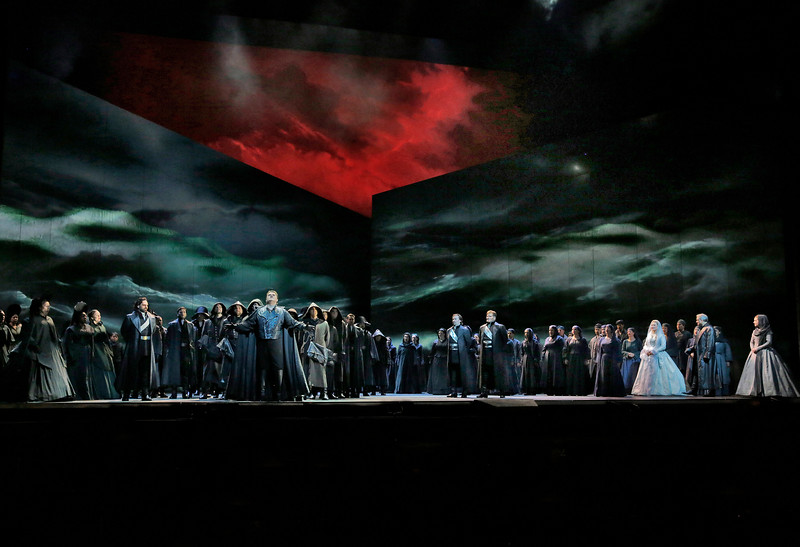 Opening storm in the Met's new  Otello