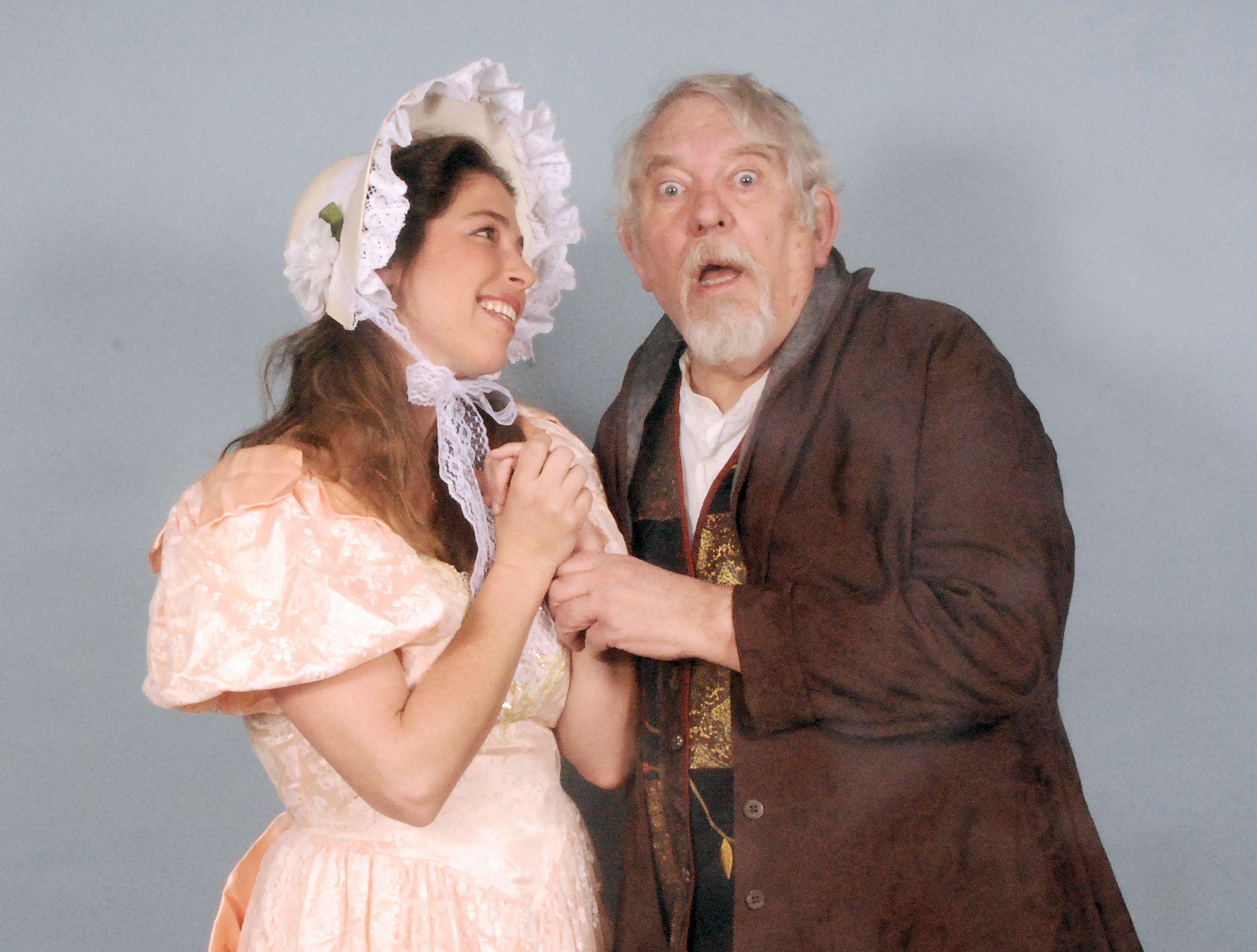 Brett Kroeger as Constance with Jim Cooper