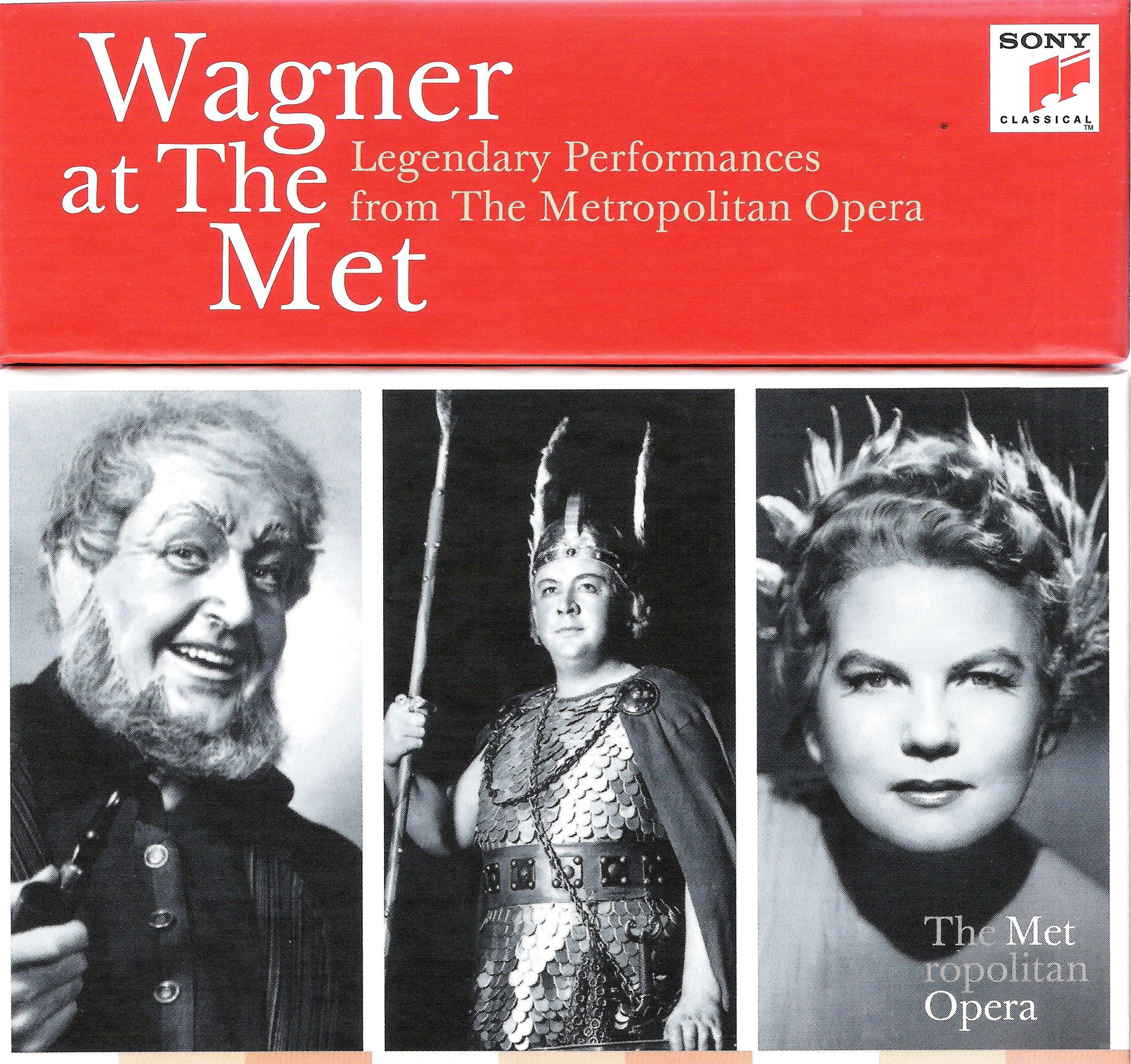 Sven Nilsson, Lauritz Melchior, Margaret Harshaw on Wagner boxed set