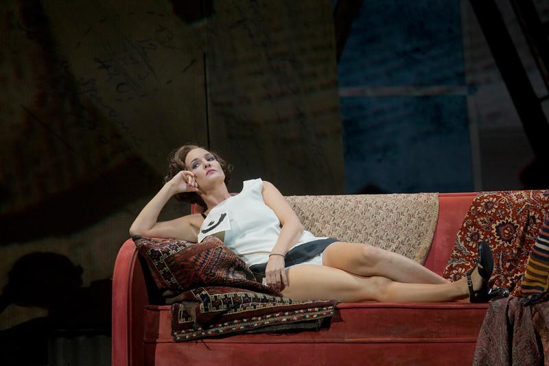 Marliss Petersen as Berg's Lulu at the Met, November 2015