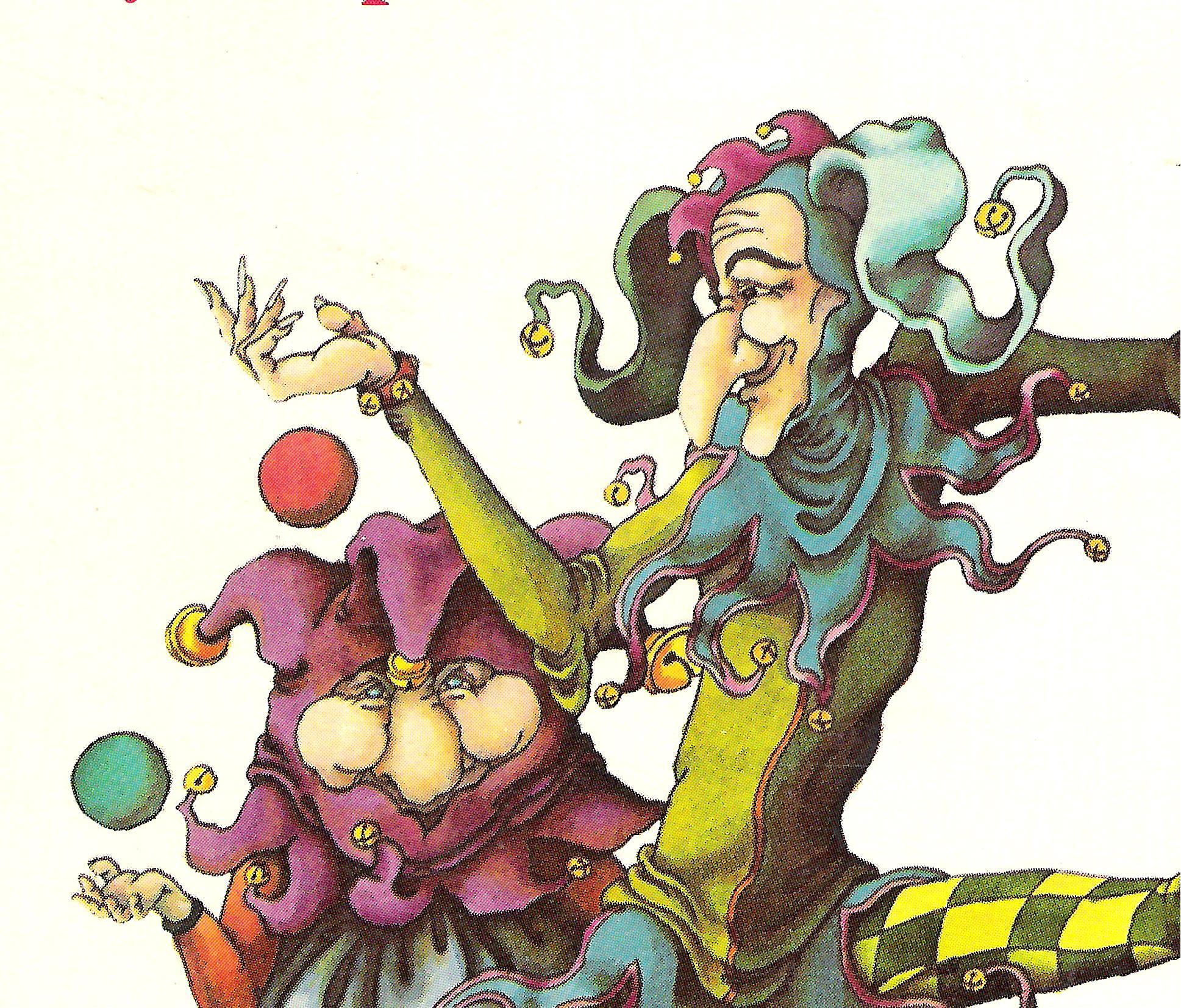 Harlequin and Tartaglia