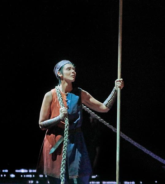 Tamara Mumford as the Pilgrim