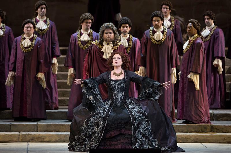 Elza van den Heever as Elettra in Mozart's  Idomeneo  at the Met