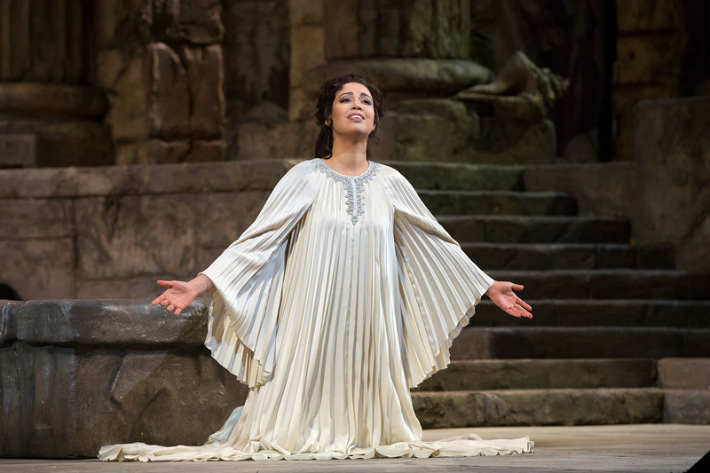 Nadine Sierra is Ilia, the Trojan Princess