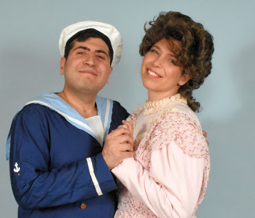 Alan Briones and Brett Kroeger as Ralph and Josephine