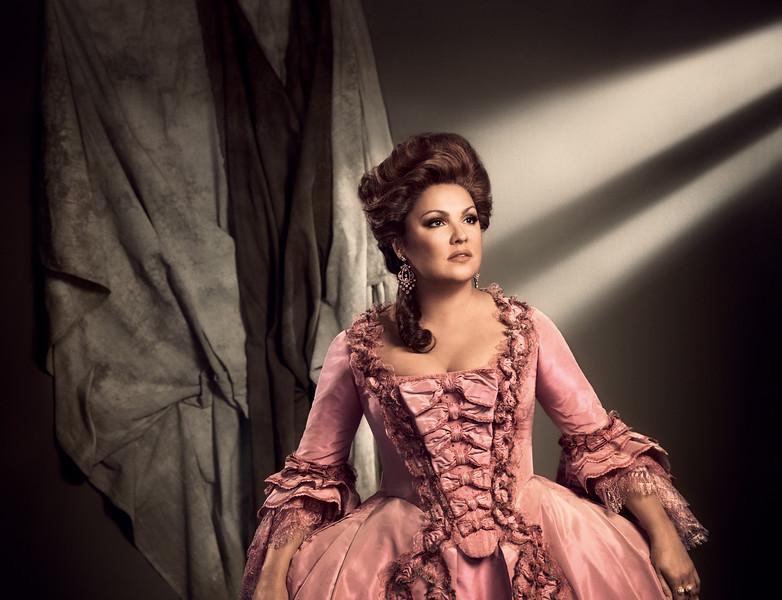 Anna Netrebko as Adriana Lecouvreur in the new production