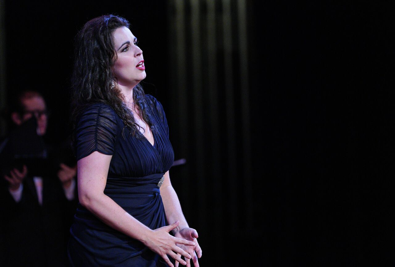Amanda Woodbury as Amenaide in Rossini's  Tancredi