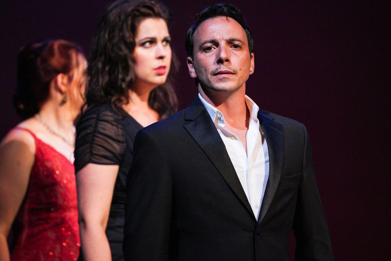 Santiago Ballerini as Argirio