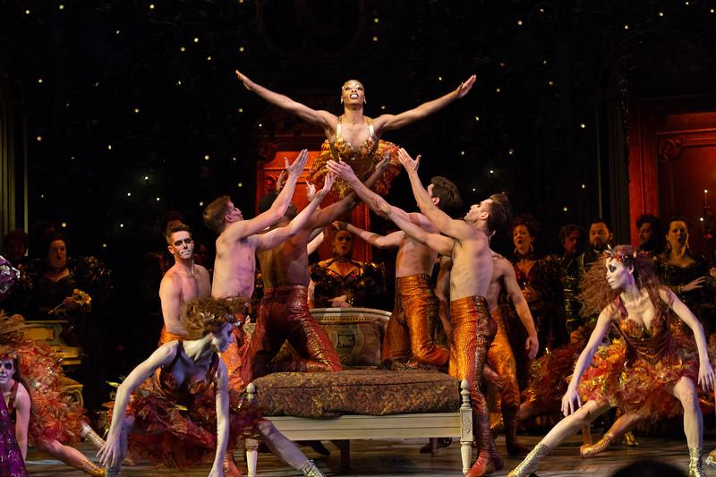 Gambling and dancing: the wild ballet in Act II, Scene II