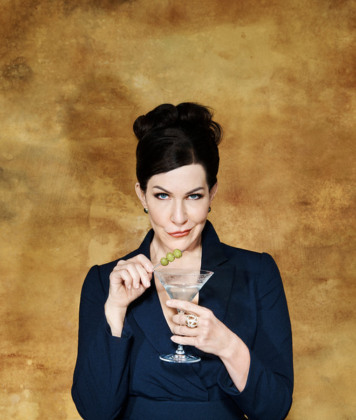 Joyce DiDonato as Agrippina toasts the new HD season