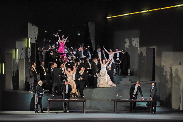 The Gambling Scene in the final act of Massenet's  Manon