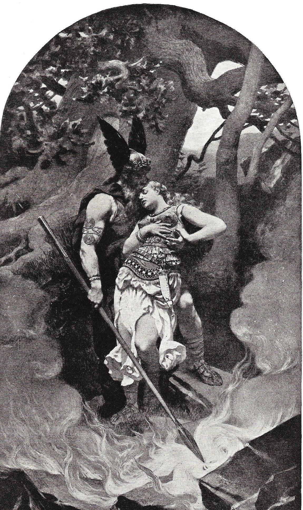 Wotan's Farewell to his favorite daughter from  The Victor Book of the Opera