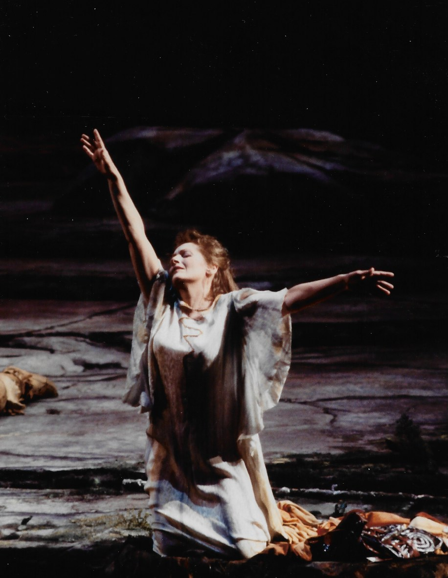 The great Hildegard Behrens in the Met's previous Ring production