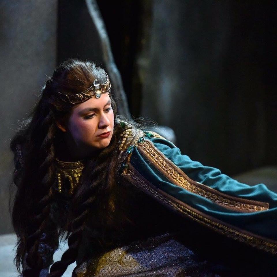 Hannah Ludwig in Wagner's  Das Rheingold