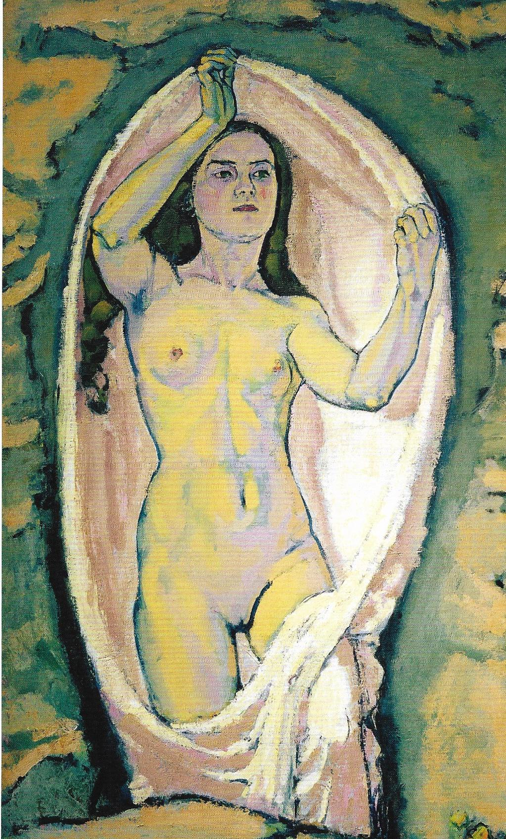 Venus in the Grotto  by Koloman Moser. akg-images.