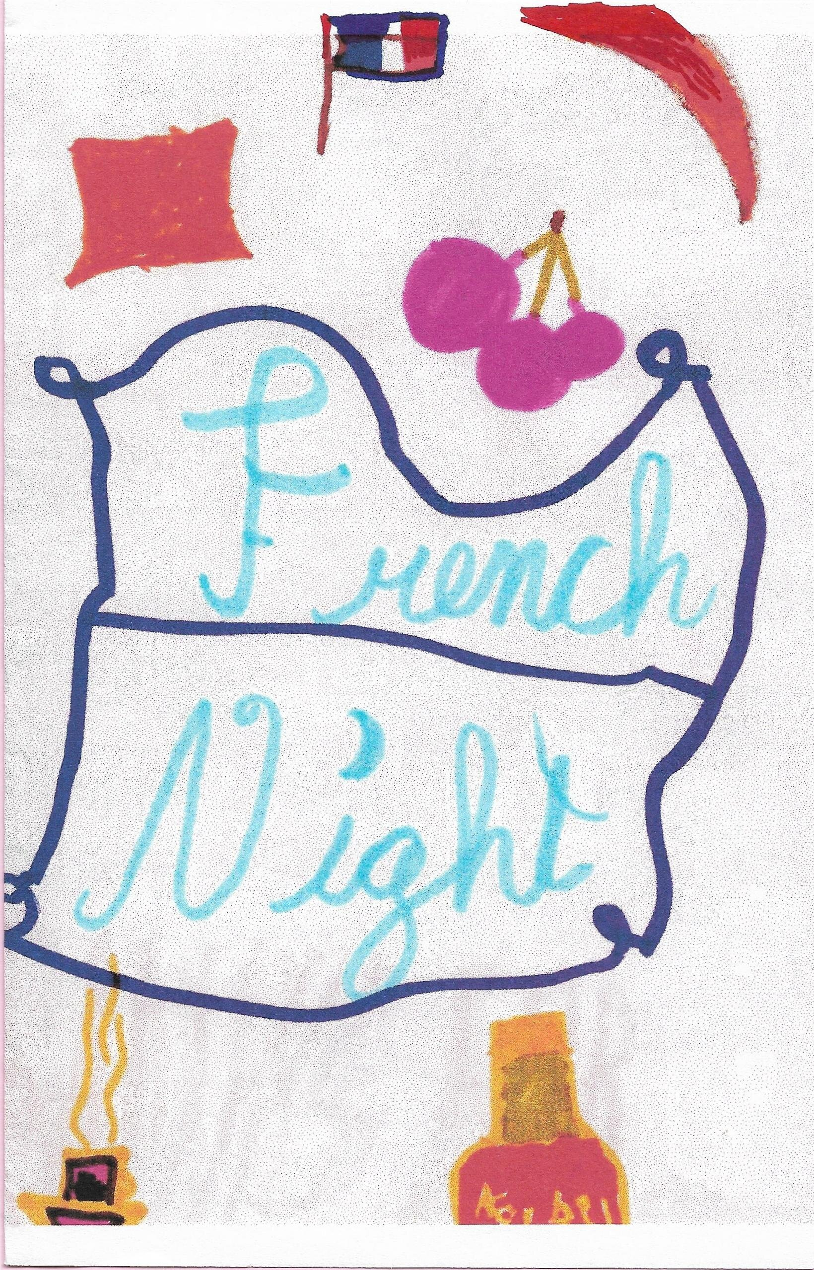 French Night program, featuring dinner and Offenbach's  Les Brigands