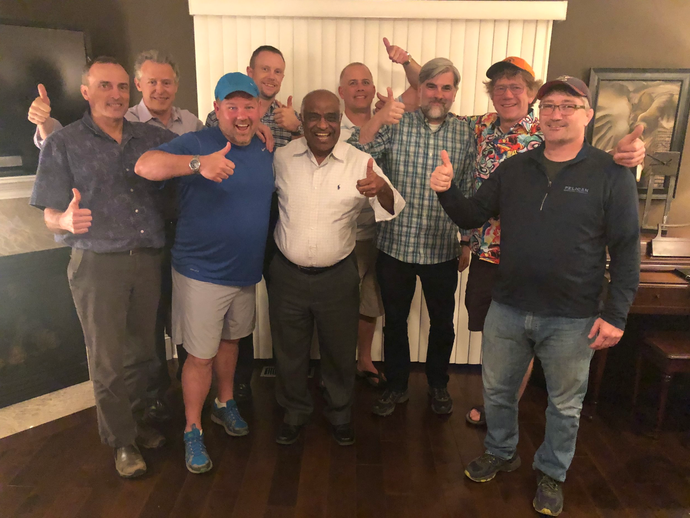 The   Abba Project 9  is again a diverse group who, by the end, have become brothers. Though three dads weren't able to be in the group picture, it's clear to see the bond and connection these men have with each other after being in the trenches together!