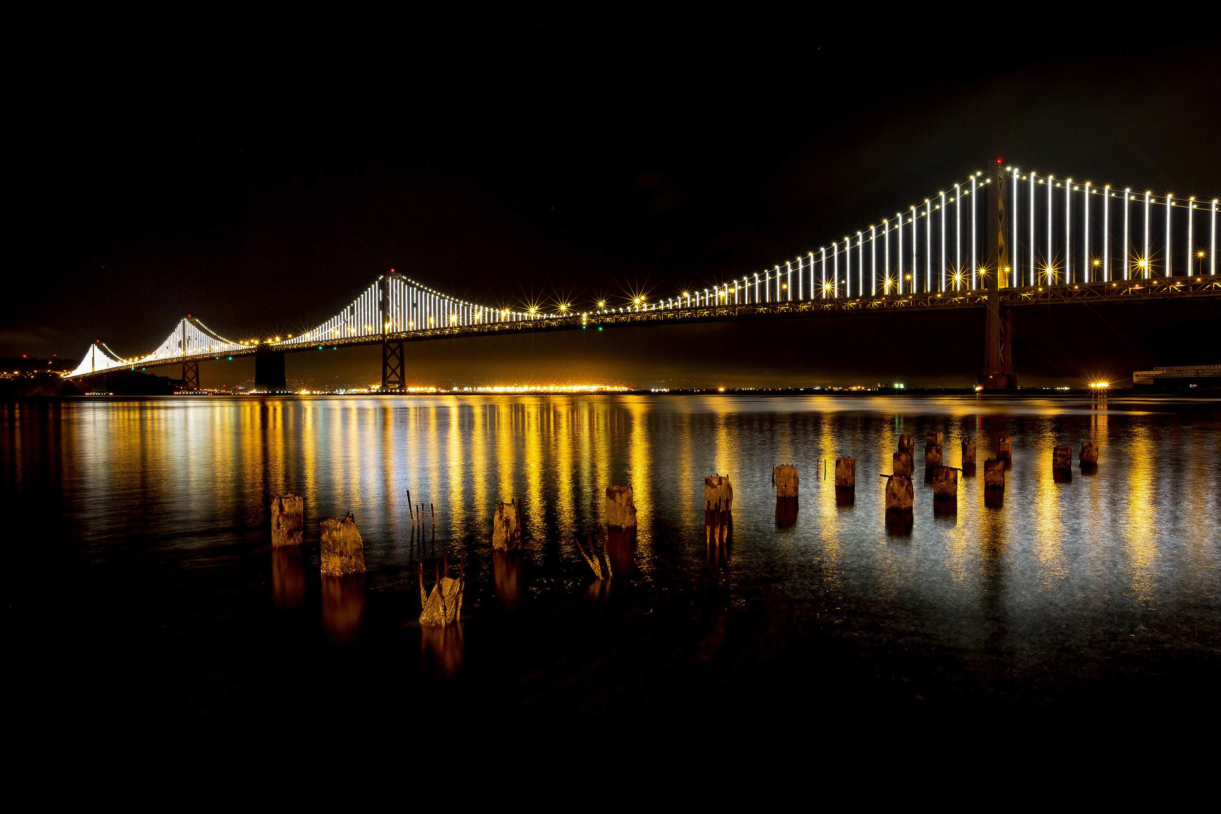 Bay Bridge, San Francisco, USA.