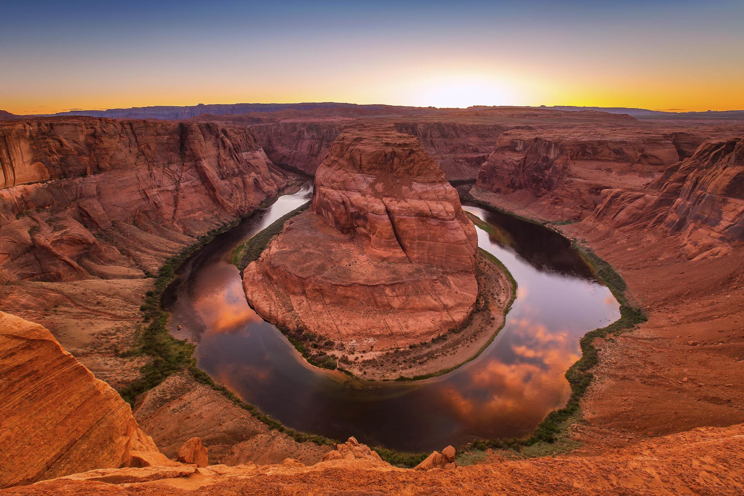 Horseshoe Bend, Arizona. USA.
