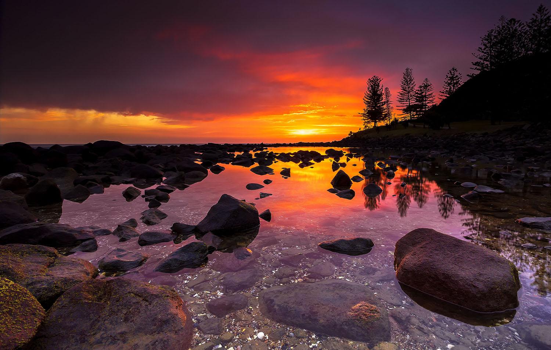 Burleigh Heads, QLD. Australia 1