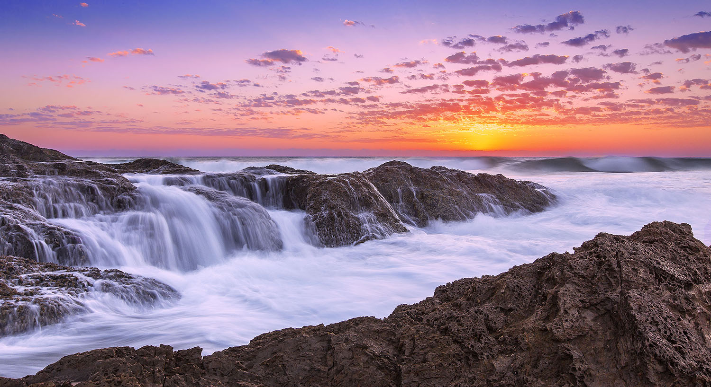 Elephant Rock, Currumbin. QLD. Australia.