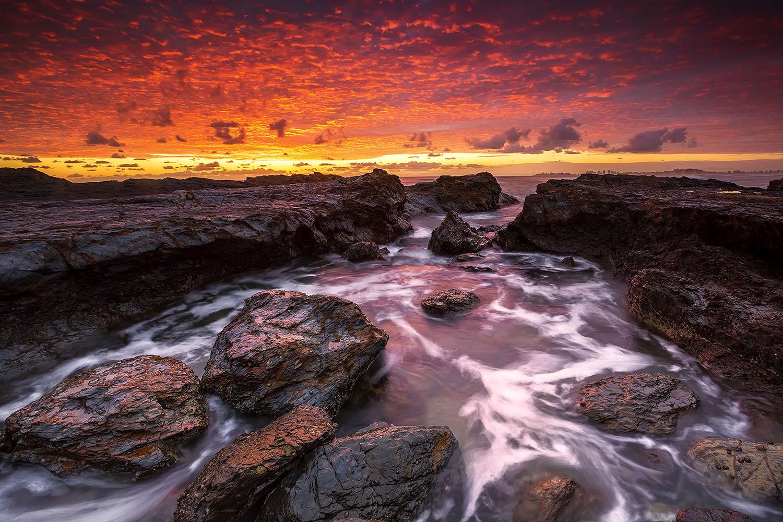 Currumbin Beach, QLD. Australia