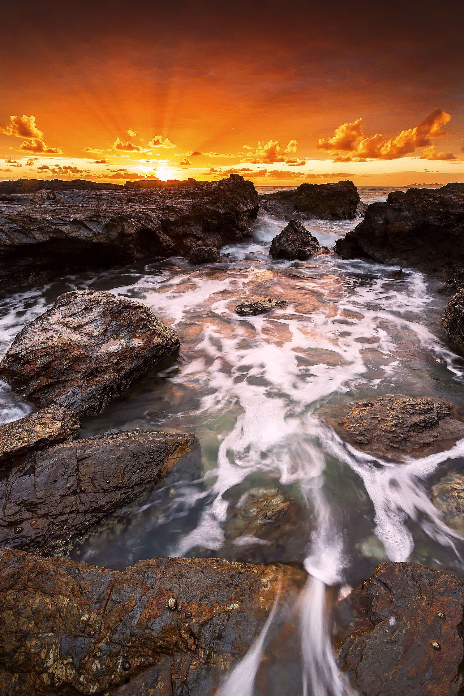 Currumbin Rock, QLD. Australia