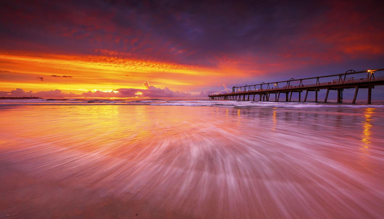 The Gold Coast Seaway, QLD. Australia