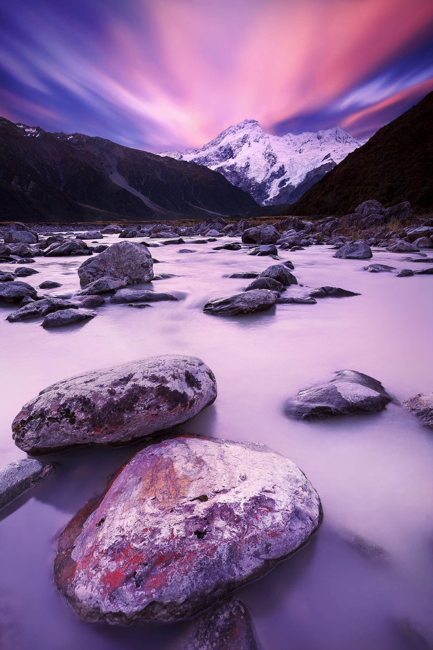 Aoraki / Mount Cook National Park, New Zealand