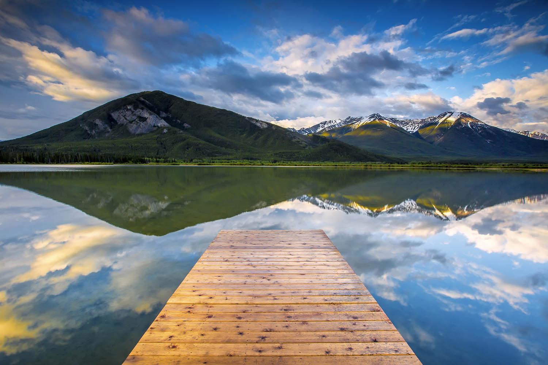 Vermillion Lakes, Banff National Park. Canada