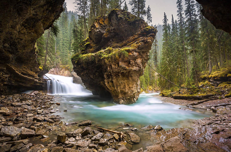 Johnson Canyon, Banff National Park. Canada