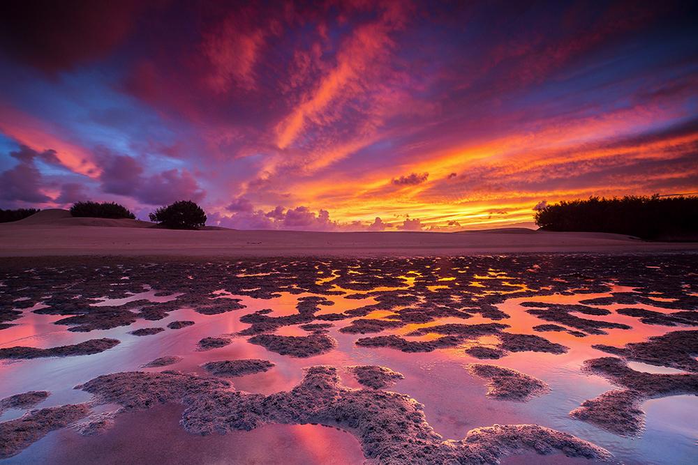 Stradbroke Island, QLD.