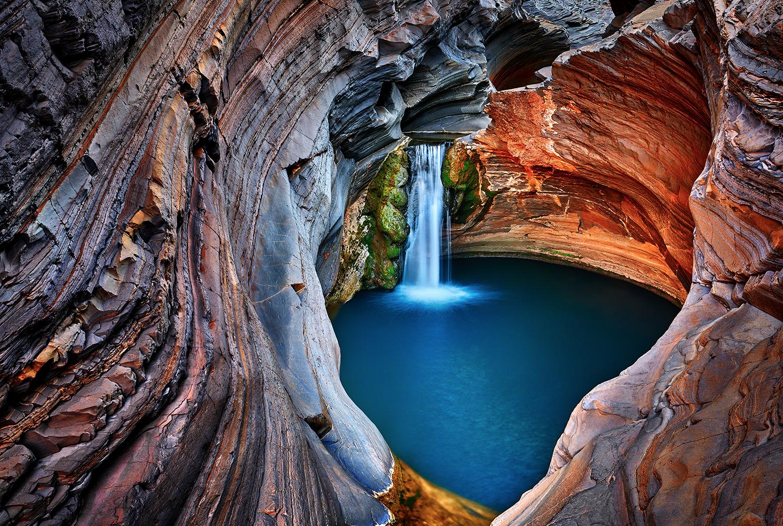 Spa Pool, Hamersley Gorge. WA.