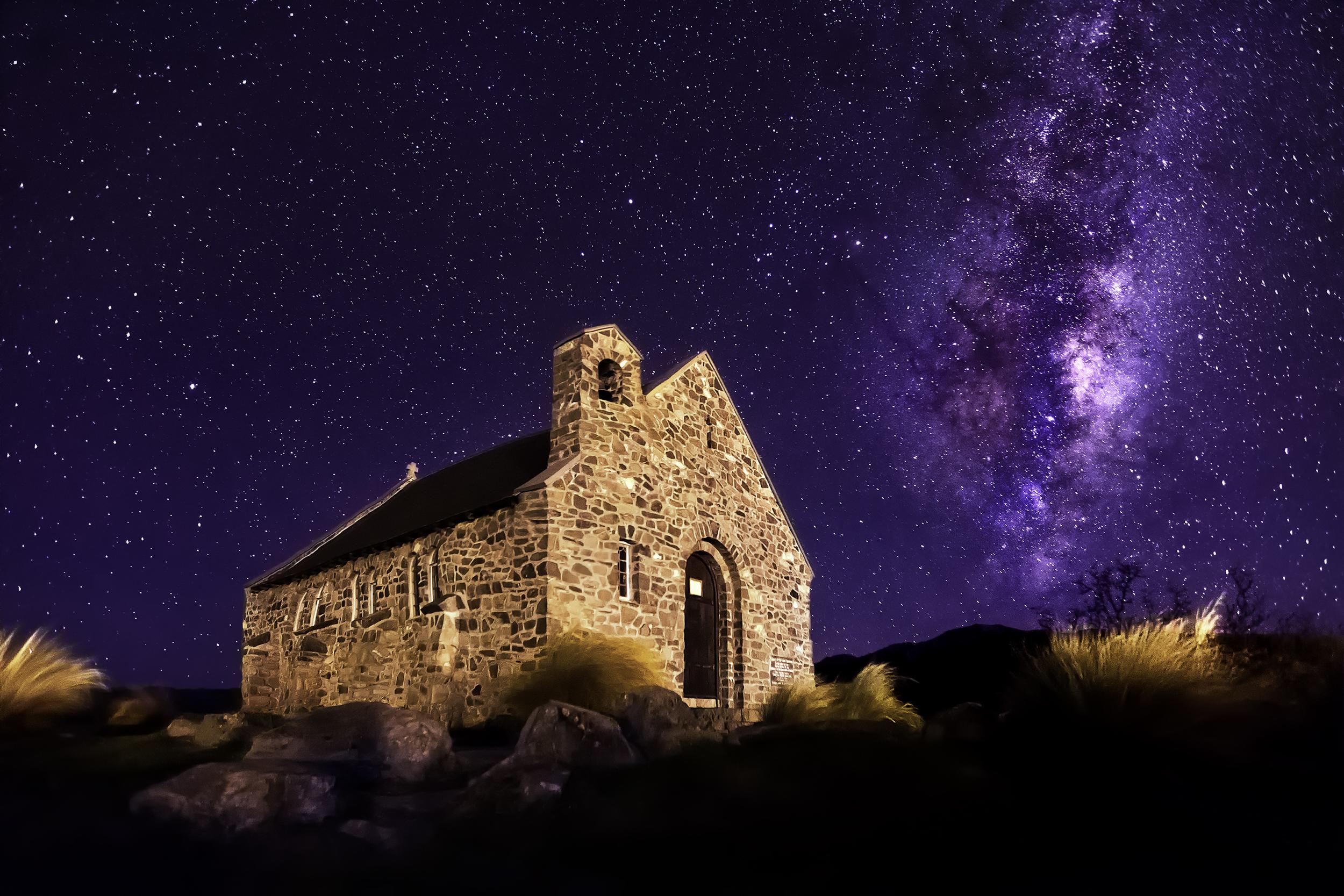 Church Of Good Shepherd, New Zealand